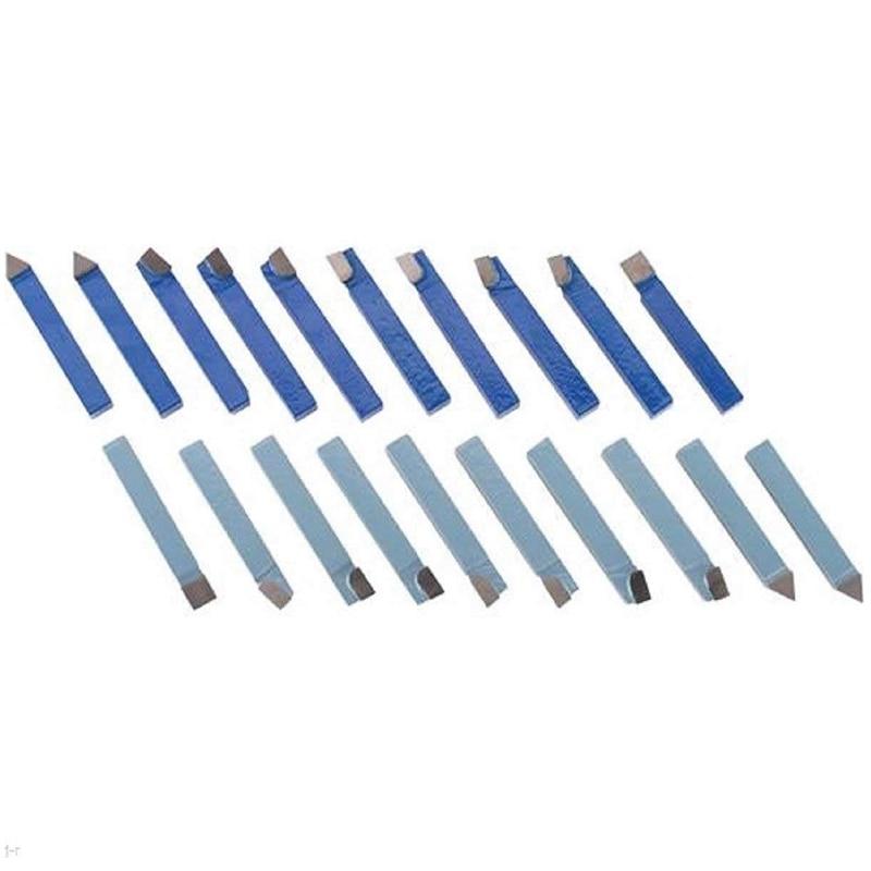 20pcs 1//2 Inch Shank Lathe Tool Set Carbide Tip Metal Cutting Turning Boring Bar