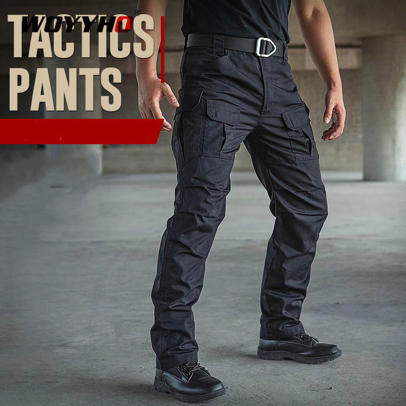 Waterproof Mens Outdoor Hiking Pants Tactical Army Pants Soft Shell Trousers Man