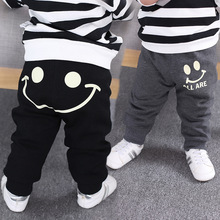 Boys girls plus sweat pants han edition baby brim child qiu dong outfit casual