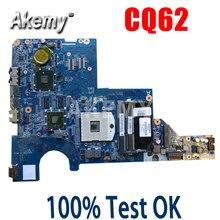 Akemy 595183-001 Moederbord Voor Hp CQ42 G42 G62 CQ62 Laptop Moederbord DAOAX1MB6F0 DA0AX1MB6H0 100% Originele