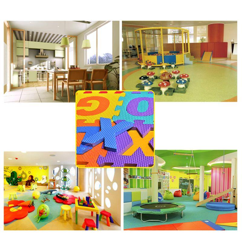 Tapis de jeu de Puzzle d'enfant avec le tapis de plancher de tapis de tapis d'exercice de verrouillage de mousse d'eva X5XE