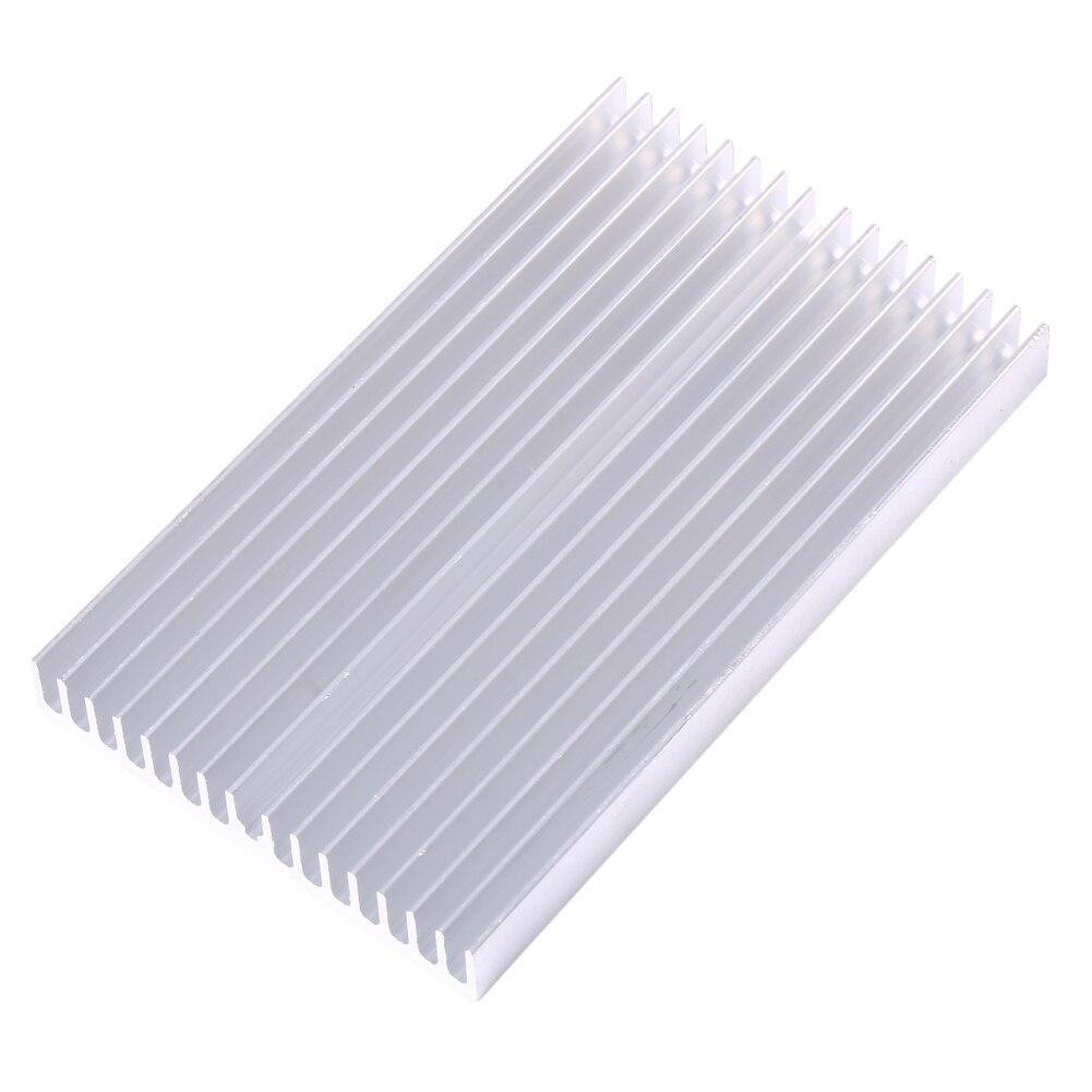 100X60X10 มม.DIY Cooler อลูมิเนียม Grille รูปร่างชิประบายความร้อนสำหรับ IC LED Power ทรานซิสเตอร์หม้อน้ำโมดูลหม้อน้...