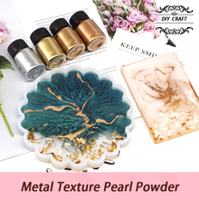 Texture-Pearl-Powder Metal Pigment Marble 25g-Mirror Colorant Resin Dye Glitter for Jewelry