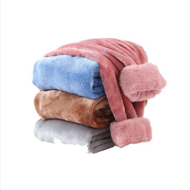 Autumn and winter Children's Warm Pants Flannel Boys and Girls Home Sleep Pants Comfortable Pajamas for Kids