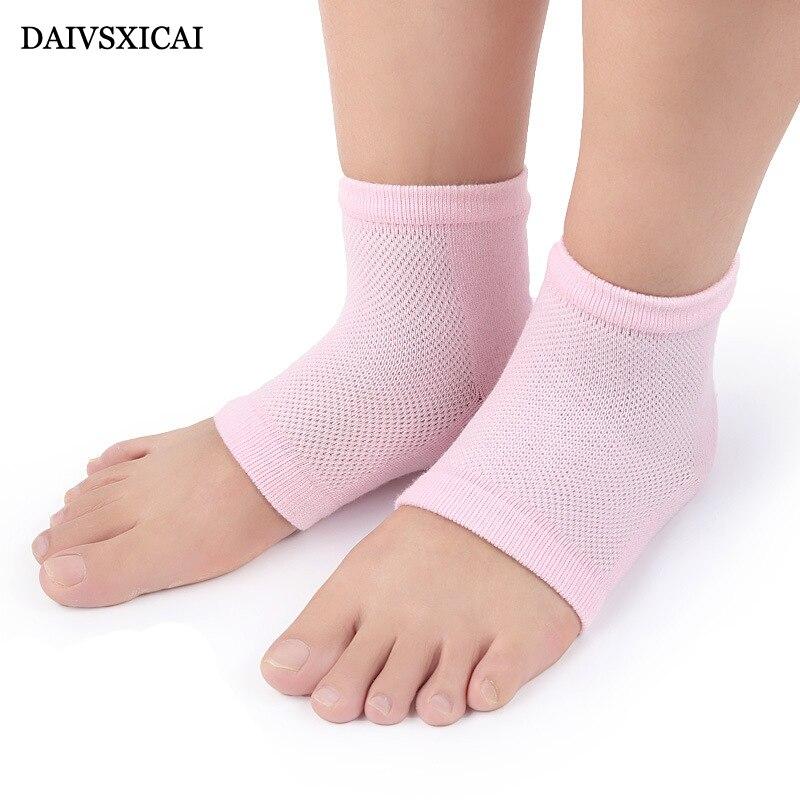 1Pairs/lot=2Pieces Summer Mesh Anti-Dry Socks Fashion Womens Heel Cover Casual Heel Female Cotton Socks