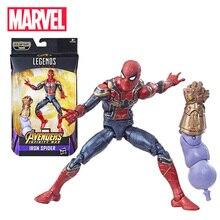 Action-Figure Collectible Iron Legends-Series Rescue Spider-Spider-Man Marvel Black Widow