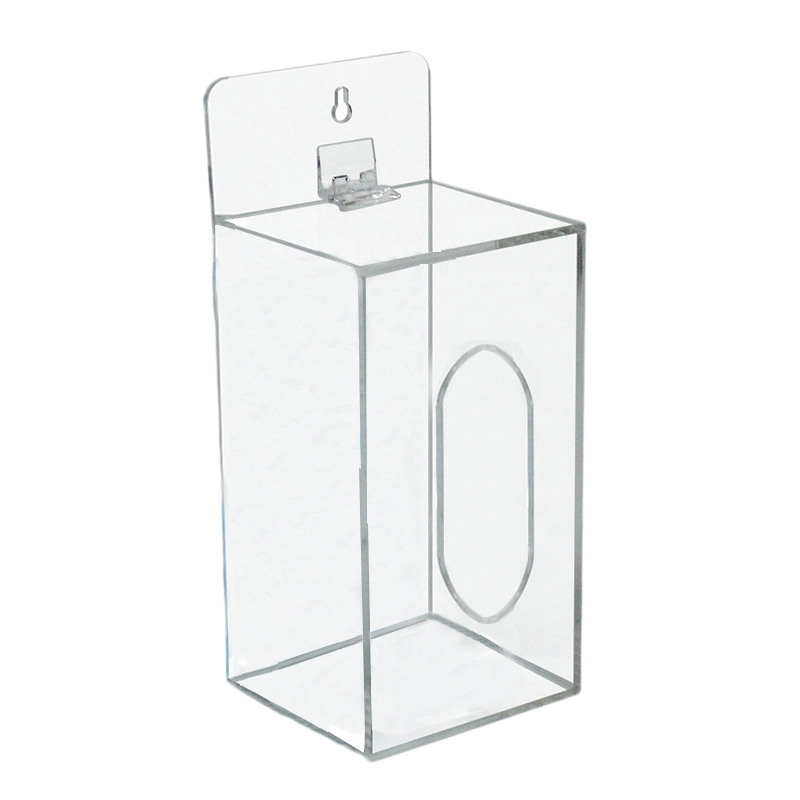 Disposable Mask Storage Box Wall-Mounted Transparent Storage Box Tissue Organize