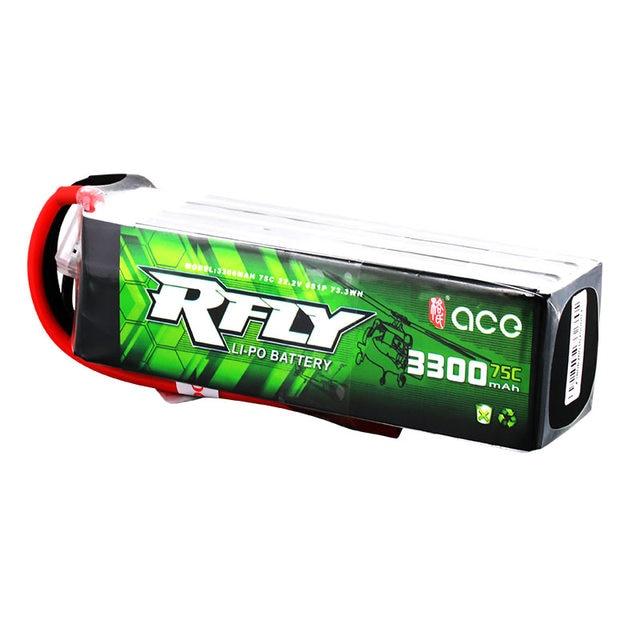 Gens ace RFLY 3300mAh 6S 22.2V 75C Max 150C bateria Lipo z XT60 Dean T wtyczka do Traxxas łódź Heli puszczania samolotów Drone samolot