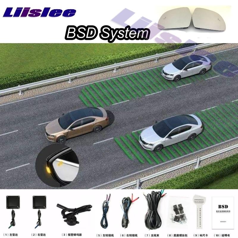 Car BSD System BSA BSM Blind Spot Detection Driving Warning Safety Radar Alert Mirror For Zotye T600 2016~2017 demo