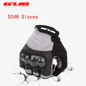 Forefinger Touch Anti-Slip Full Finger Cycling Gloves GUB Shockproof Riding Gloves Breathable Washable Велосипедные перчатки