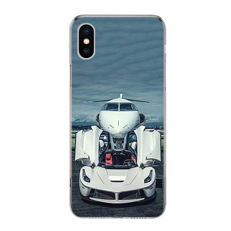 Uyellow Cool Sport Car Design Trend Cover For Iphone 5 6S 7 8 10 Plus Silicone Soft Phone Case For Apple X XR XS MAX Coque Shell in Fitted Cases from Cellphones Telecommunications