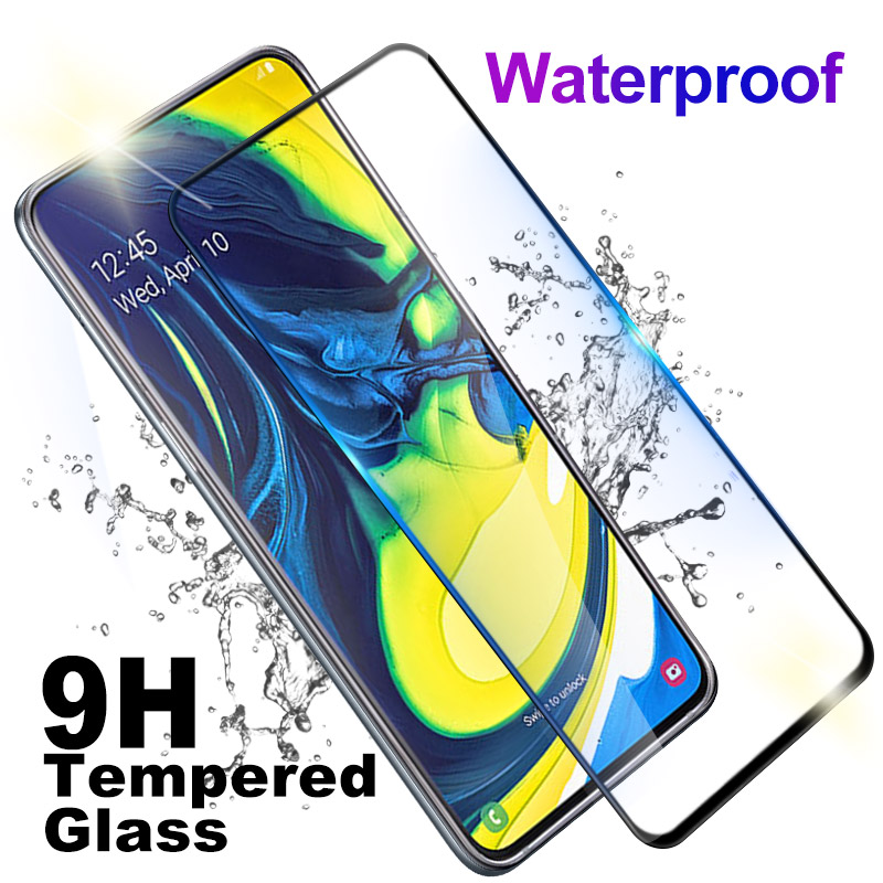 9D Screen Protector For Samsung Galaxy A50 A70 A20E A60 A40 A30 A20 A10 A80 M10 M20 Tempered Glass Full Cover Protection Glas in Phone Screen Protectors from Cellphones Telecommunications