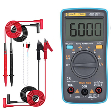 Auto Digital Multimeter 8000 Hohe Präzision True RMS Auto Range Amperemeter Voltmeter Smart Kondensator Temperatur NCV Ohm Hz Tester