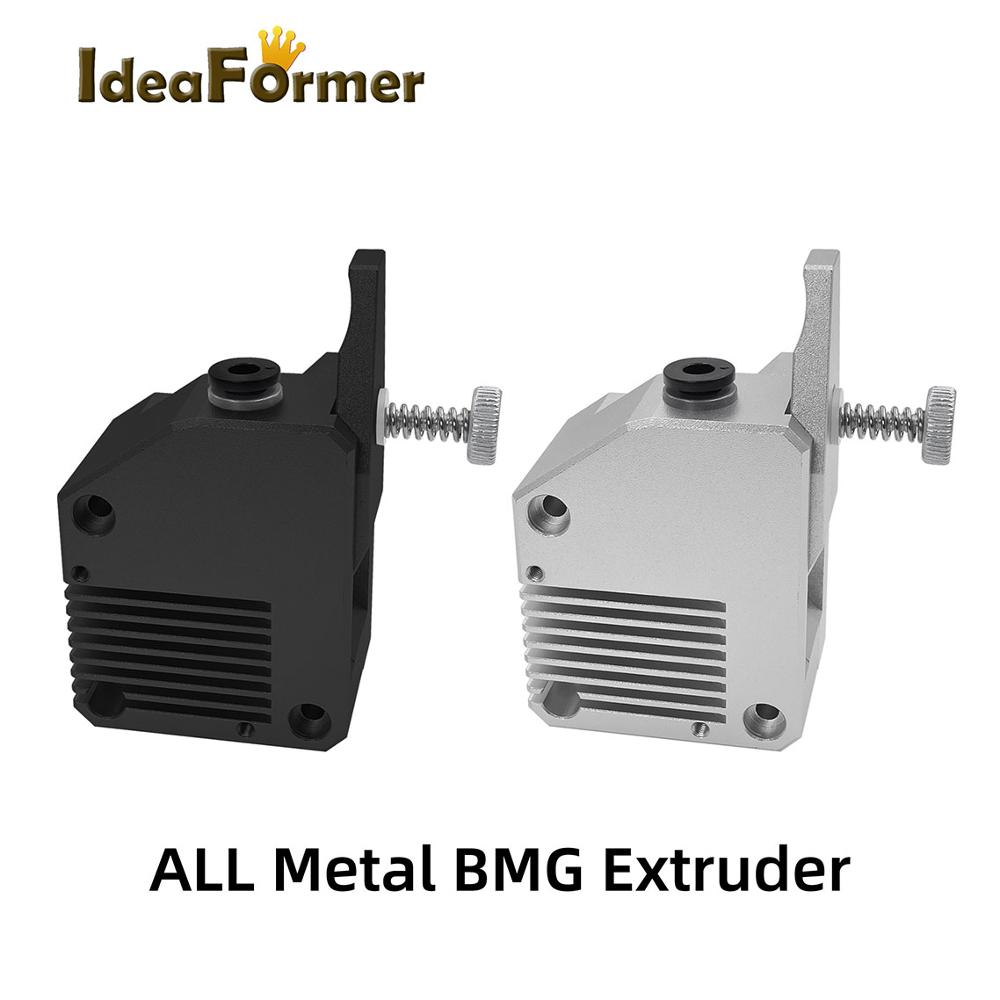All Metal Dual Gear BMG Extruder Left/Right Hand Bowden Dual Drive Extruder For 3d Printer Mk8 CR10 Prusa I3 Mk3 Ender 3