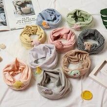 Новый весенний Детский шарф мультяшный осенний зимний для мальчиков