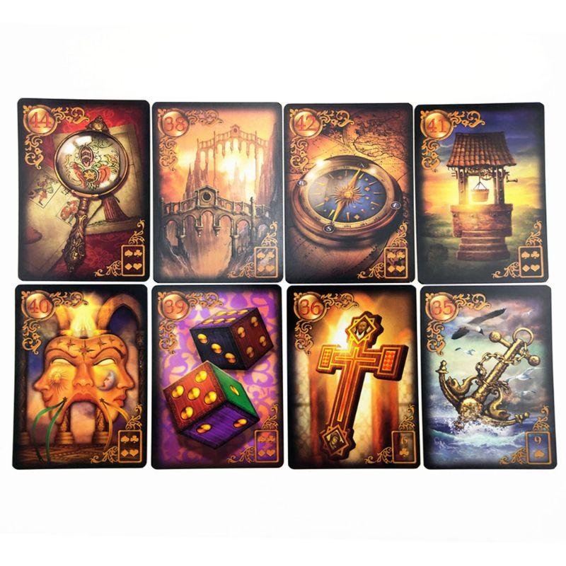 47 tarô cartões adivinhação destino jogando cartões