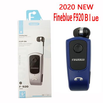 FineBlue F920 Mini Bluetooth Headset Remind Vibration Wear Clip Sports Running Earphone for Phone