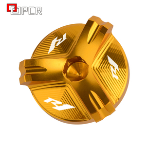 Image 5 - Motorcycle Cnc Aluminium Olievuldop Plug Cover Voor Yamaha R1 YZF R1 1998 2020 2019 2018 2017 2016