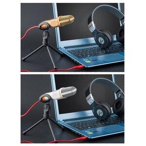 Image 3 - Kebidumei 3.5mm kablolu el mikrofonu ses stüdyo mikrofonu bilgisayar için mikrofon sohbet PC Laptop Skype MSN hediyeler