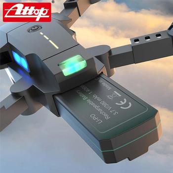 ATTOP X-PACK 10 Mini RC Drone 2,4G 4CH 6-Axis Gyro 3D-Flip modo sin cabeza una tecla de retorno Quadcopter RC helicóptero de jug 2