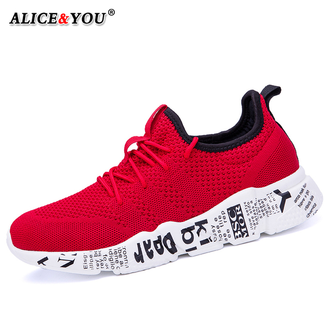 Casual Shoes Men Sneakers Comfortable Fashion Mesh Outdoor Walking Jogging Shoes New Lace-up Flat Male Footwear Zapatos Hombre 3