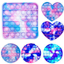 Hot Push Bubble Fidget Toys Adult Stress Simple Dimple Relief Toy Antistress Soft Squishy Anti-Stress Gift