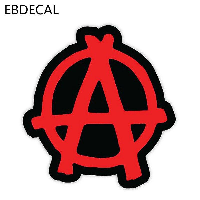 EBdecal  Anarchy Car Stickers For WindowFor Auto Car/Bumper/Window/Wall Decal Sticker Decals DIY Decor CT6332