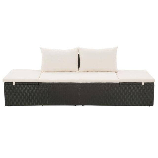 Garden Lounge Bed 1