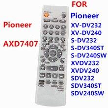 Nouveau remplacer AXD7407 télécommande pour Pioneer lecteur DVD télécommande XVDV350 AXD 7407 DCS232 DCS240 DCS535