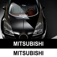 1PC Auto Aufkleber Reflektierende Aufkleber Vinyl Aufkleber Auto Styling Für Mitsubishi asx outlander xl 3 lancer pajero 4 l200 lancer EX