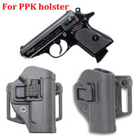 Tático airsoft holsters para walther ppk 2238 ppk/s pistola caso arma coldre cinto laço arma estilingue molle plataforma handgun caso|Acessórios para armas de caça| |  -