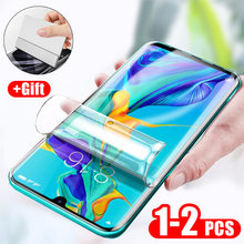 ZNP 3PCS Screen Protector Hydrogel Film For Huawei P20 P30 Lite Mate 30 Pro Full Screen Protective For Honor 10 9 Lite Soft Film(China)