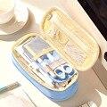 Креативный вместительный холщовый чехол-ручка Coloffice  многофункциональная сумка  канцелярские принадлежности для школьников  сумка-каранда...