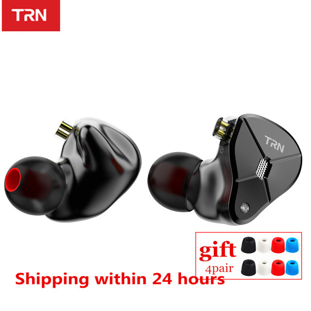 TRN BA5 5BA 10 Unit Balanced Armature In Ear Earphones HIFI Metal Monitor Headset Noise Earbud Earphone ZS10PRO ZSX V90 BA8 ZAX
