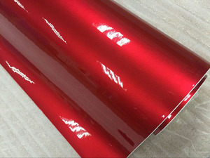 Image 3 - Premium quality 10/20/30/40/50/60X152CM/Lot Red Metallic Glossy Glitter Wrap Sticker for car wraps Glossy Candy Gold Vinyl Film