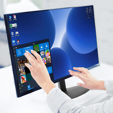 Monitor LCD IPS 24 #8222 z ekranem dotykowym HD monitor gamingowy HDMI monitory komputerowe PC 1920*1080p wyświetlacze na pulpit tanie tanio NoEnName_Null 16 9 CN (pochodzenie) 1920x1080 Dostępny w magazynie 178° 2 ms GF-240Y ≥ 50000 1