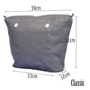 Image 2 - TANQU bolsillo con cremallera para forro interior, inserto superavanzado con revestimiento interior resistente al agua para bolsa O