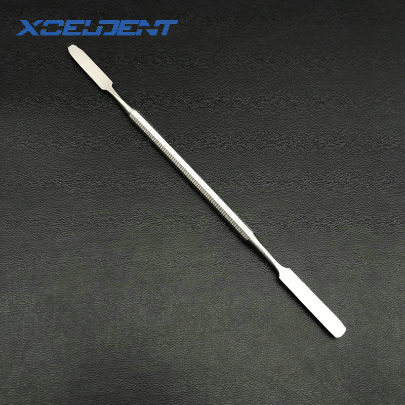 1pc Stainless Steel Mixing Spatula Tool Spatuler Rod Dental Nail Art Makeup Foundation Eyeshadow Mixing Stick Color Tools