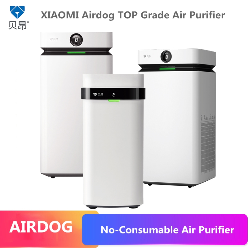 New Technolog Xiaomi Top Grade Air Purifier No Filter Consumable Ion Field Purification Technology