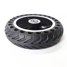 200x50 Solid Wheel Electric Scooter Scooter Wheel With Solid Tire Black(China)