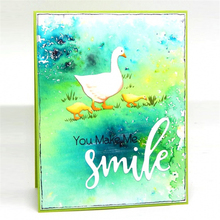 Naifumodo Duck Family Metal Cutting Dies Scrapbooking For Album Cards Decoration Embossing Stencils Folder Cuts New 2019
