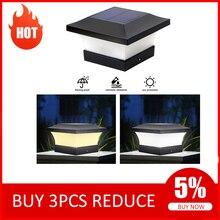 Светодиодный фонарь на солнечной батарее, водонепроницаемый садовый светодиодный светильник для ограждения, приземляет крышку, класс защи...