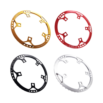 45T 130 BCD Round Chainring Aluminum Folding Bike Chainring Bicycle Parts image