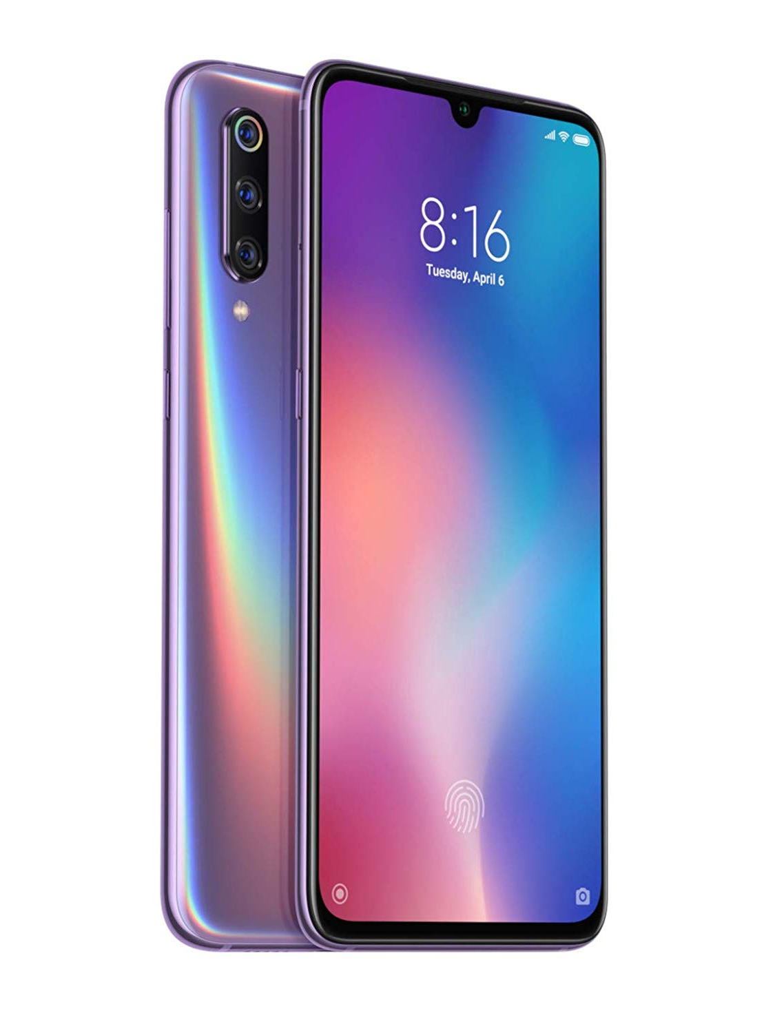 Xiaomi Mi 9, Global Version, Dual SIM, Violet Color, 64 Hard GB ROM, 6 Hard GB RAM, Screen From 6,39