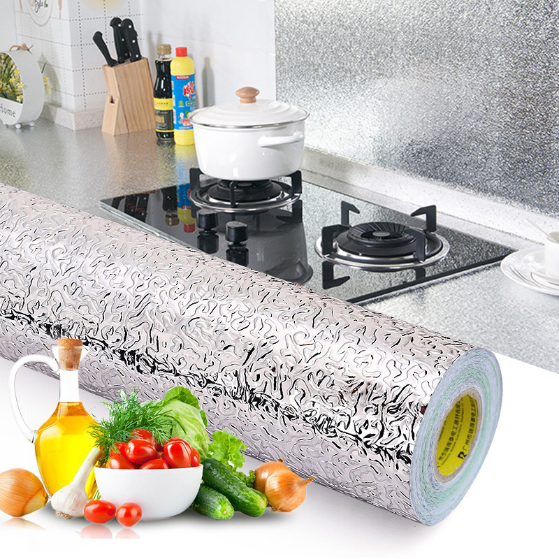 Kitchen Oil Resistant Useful Product Wallpaper Self-Adhesive PVC Waterproof High-temperature Resistant Cupboard Drawer Pad Of Pa