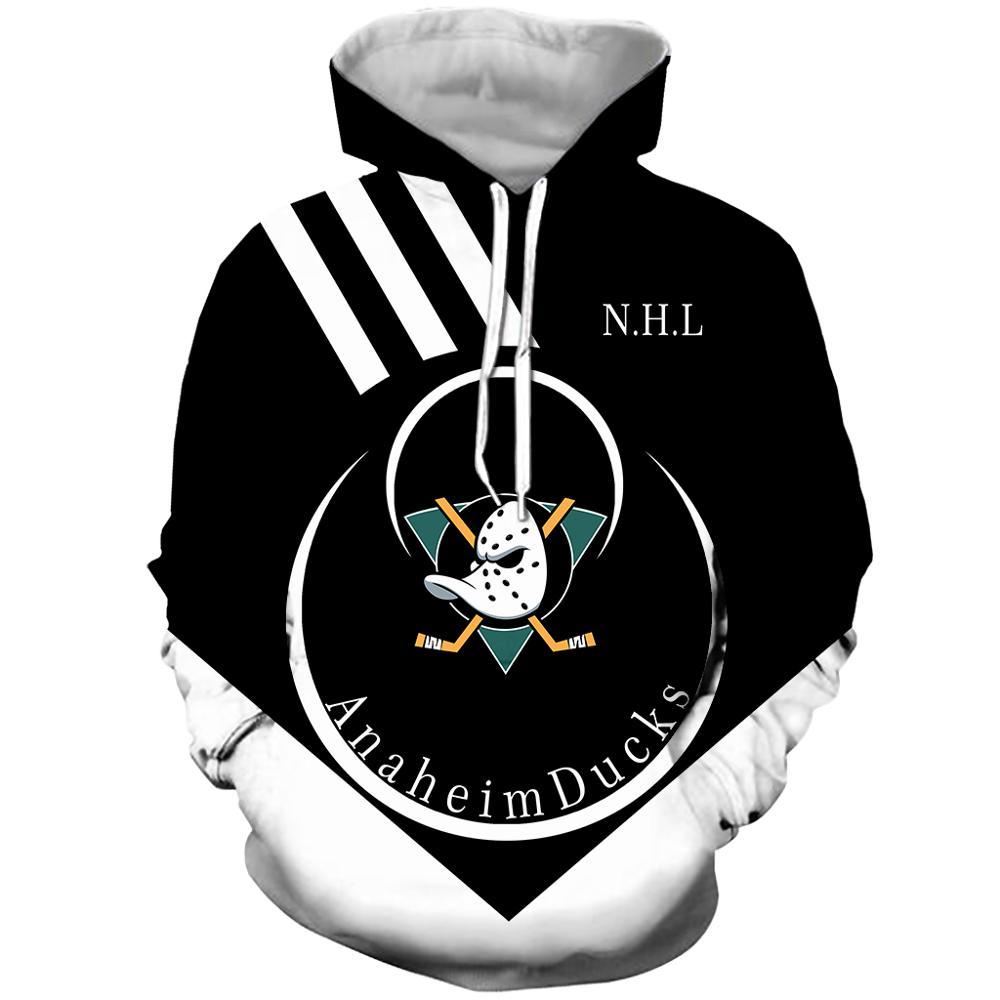 Anaheim Duck NHL Ice Hockey Sweatshirt Hoodie Men's Hoodie Original Design Harajuku Wind Sweater Hoodie Sweatshirt
