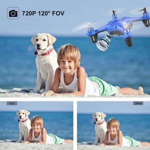Image 3 - Mini Dron APEX con cámara 720P FPV, Mini Dron con cámara HD, Quadcopter, helicóptero RC, modo de retención de altitud sin cabeza