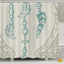 New hot feather element multi-function bathroom water curtain perfect cover beautiful decoration wholesale