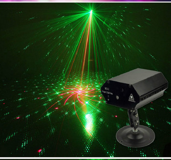 Stage Light Party Laser Light Blue Green Red Pattern Laser Projector Led Colorful DJ Music Xmas Festival Disco Show Dance dj disco beam laser light professional remote dmx512 red 200mw stage lighting scanner dj party show xmas light led effect projector