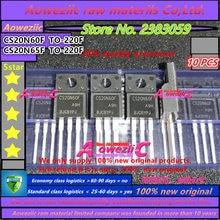 Aoweziic 100% חדש מקורי CS20N65FA9H CS20N65F CS20N65 TO 220F 20A 650 v/CS20N60FA9H CS20N60F CS20N60 TO 220F 20A 600 v